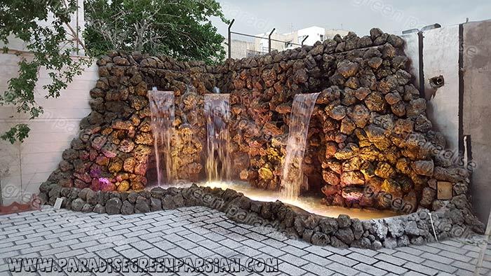 abshar stone آبشار صخره ای