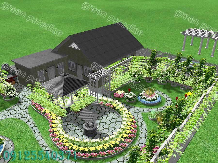 greenspace design طراحی فضای سبز