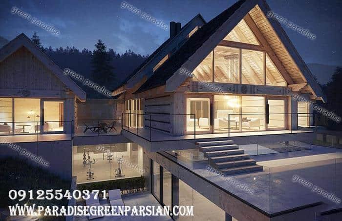 villa design طراحی و ساخت ویلا