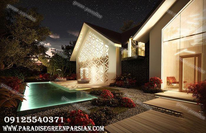 villa design1 طراحی و ساخت ویلا