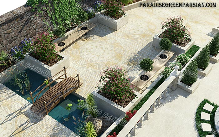 محوطه طراحی فضای سبز