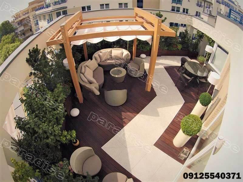 green roofs بام سبز و آنچه برای اجرای آن باید بدانیم!