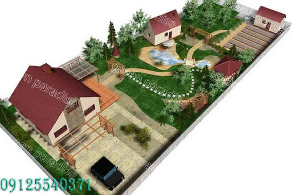greenspace design1 1 طراحی فضای سبز