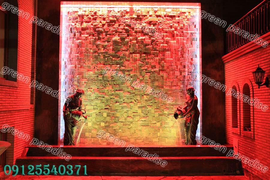 abnama6 1 آبنما دیواری