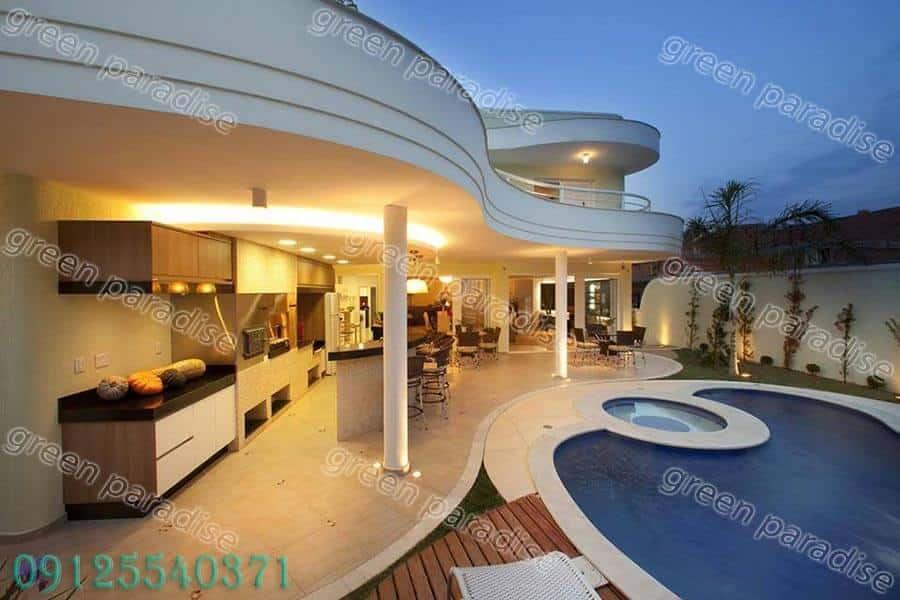 villa4 طراحی ویلا
