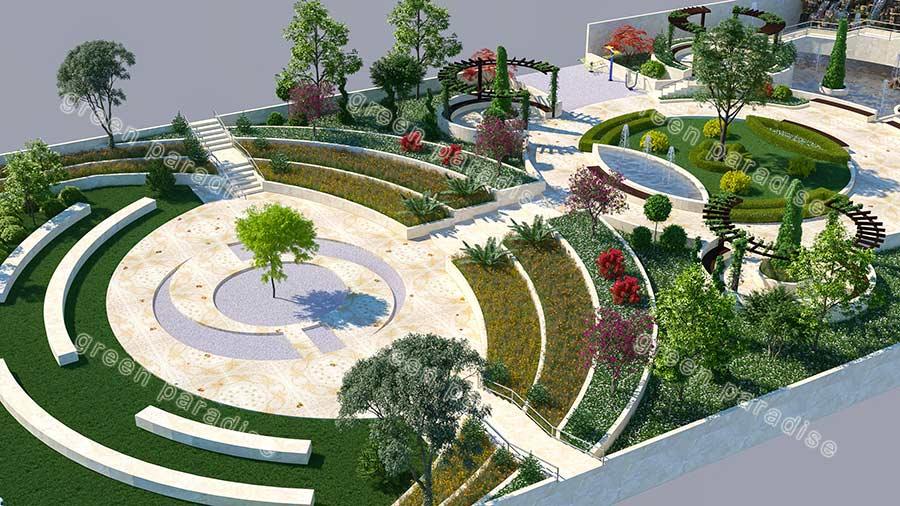landscape 4 طراحی محوطه و فضای سبز