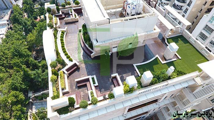roof garden روف گاردن