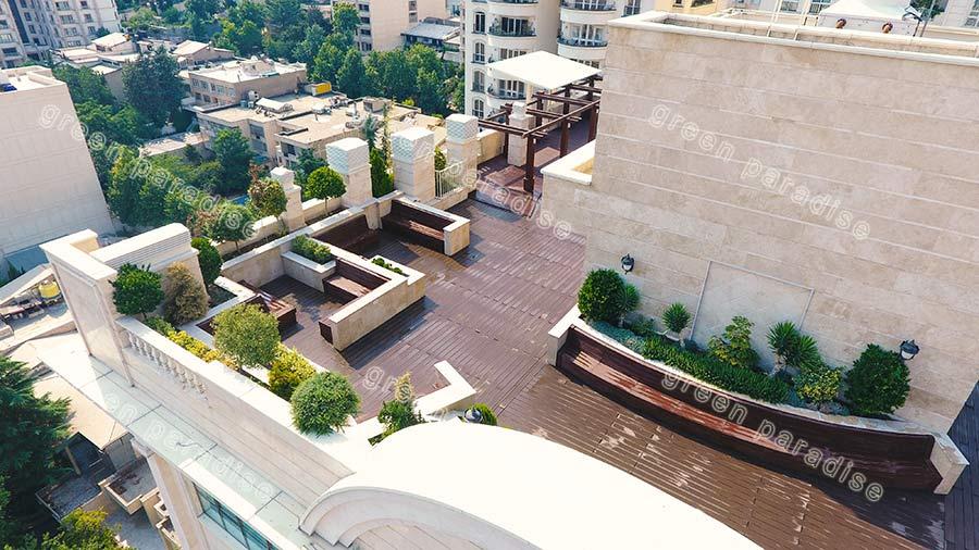 roofgarden 1 روف گاردن برج سما ولنجک