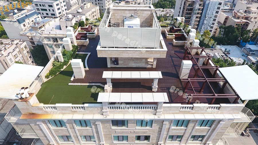 roofgarden 2 روف گاردن برج سما ولنجک