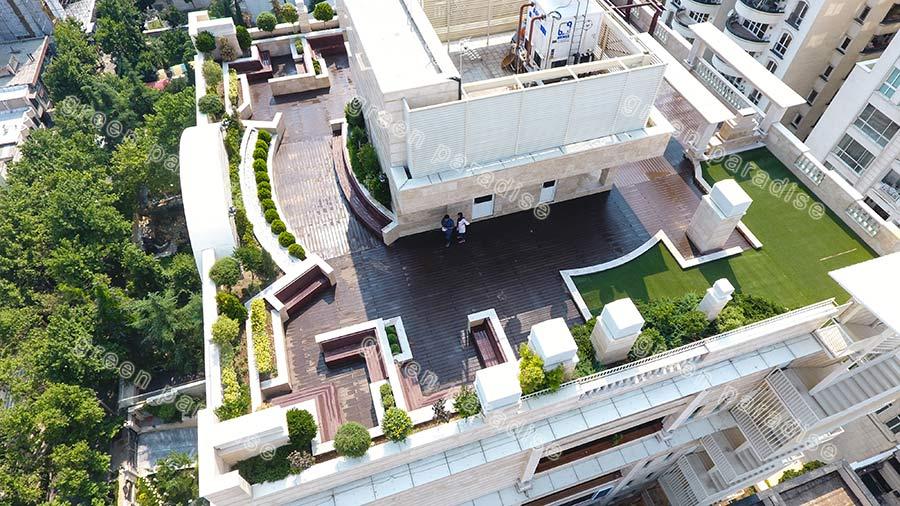 roofgarden روف گاردن برج سما ولنجک