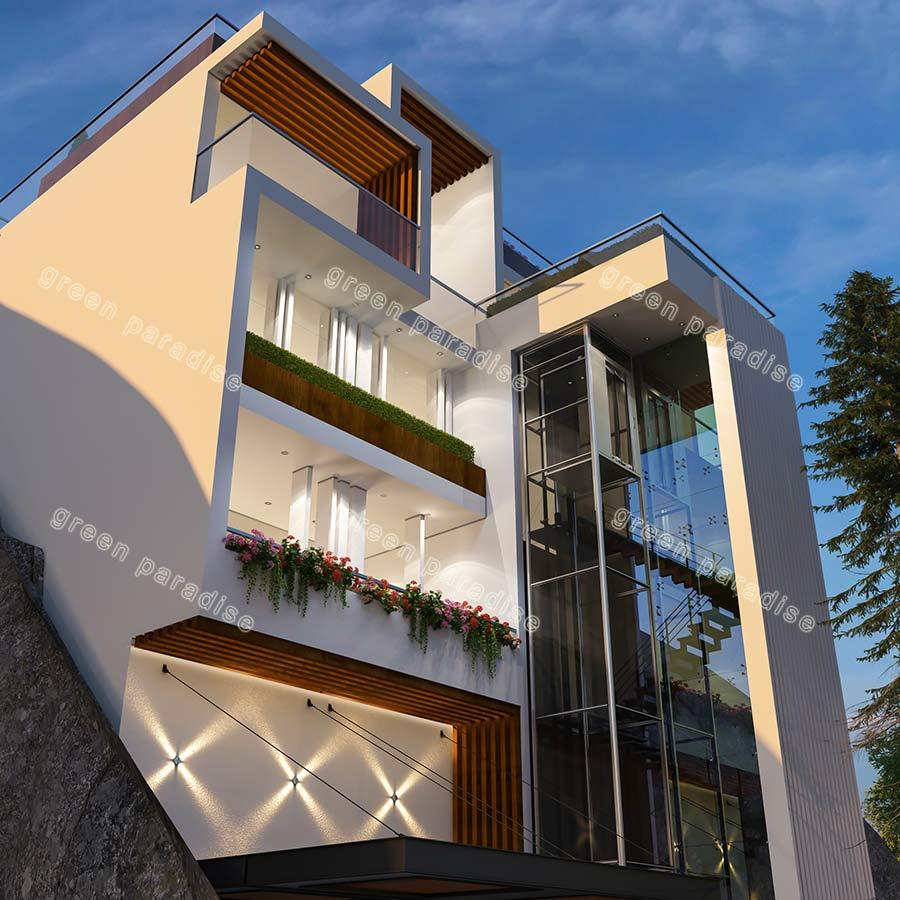villa 1 ویلای مدرن میگون