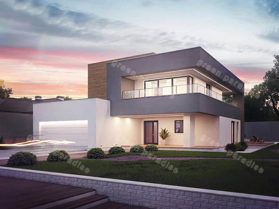 villa 14 طراحی ویلا