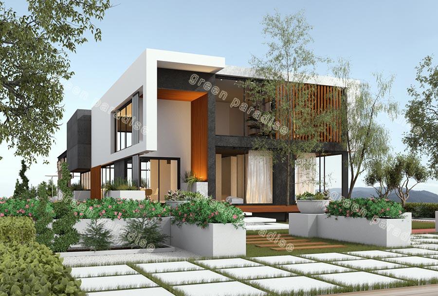villa 20 طراحی ویلای آبسرد