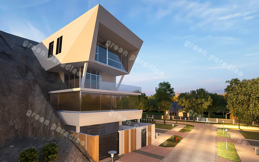 villa 3 ویلای مدرن