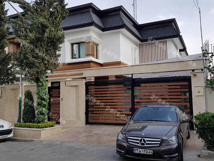 villa 8 بازسازی ویلای شهرک غرب