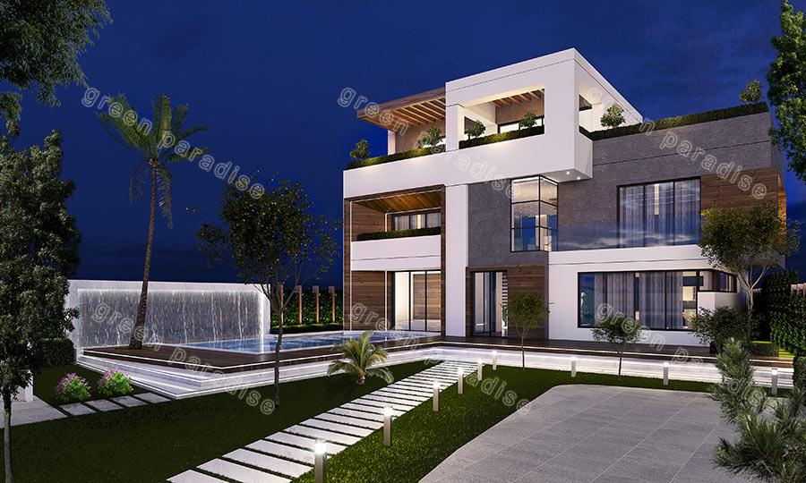 villa 9 ویلای مدرن ساوه