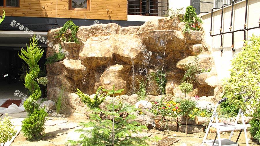 waterfall 10 آبنما صخره ای