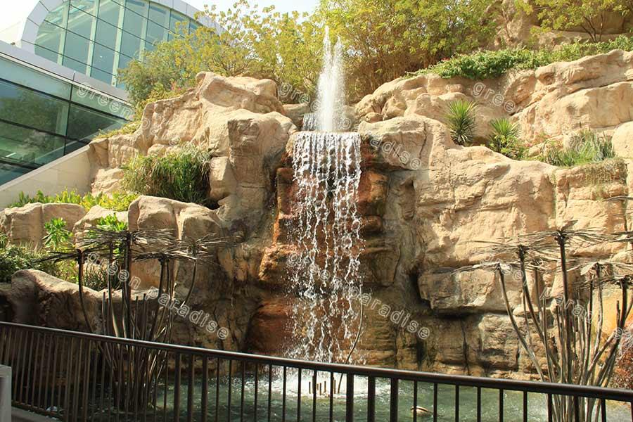 waterfall 4 آبنما صخره ای