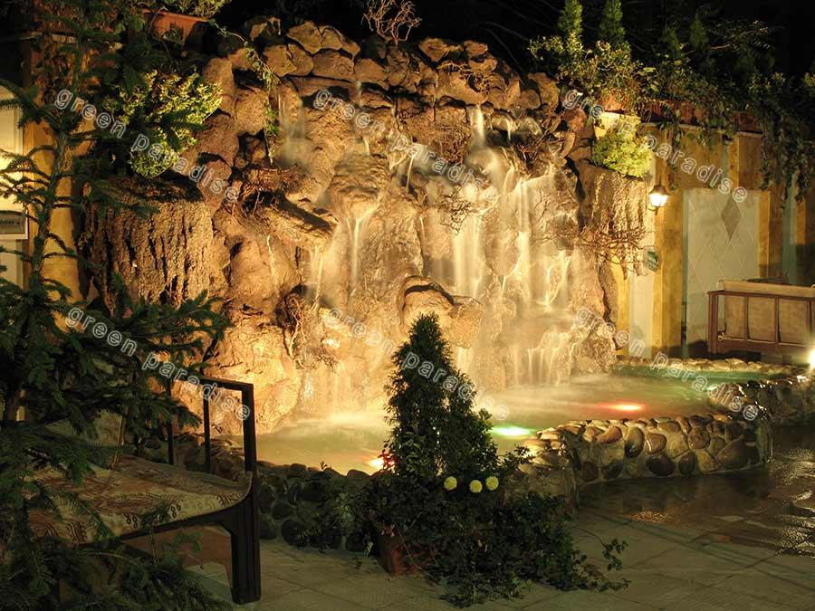 waterfall 9 آبنما صخره ای