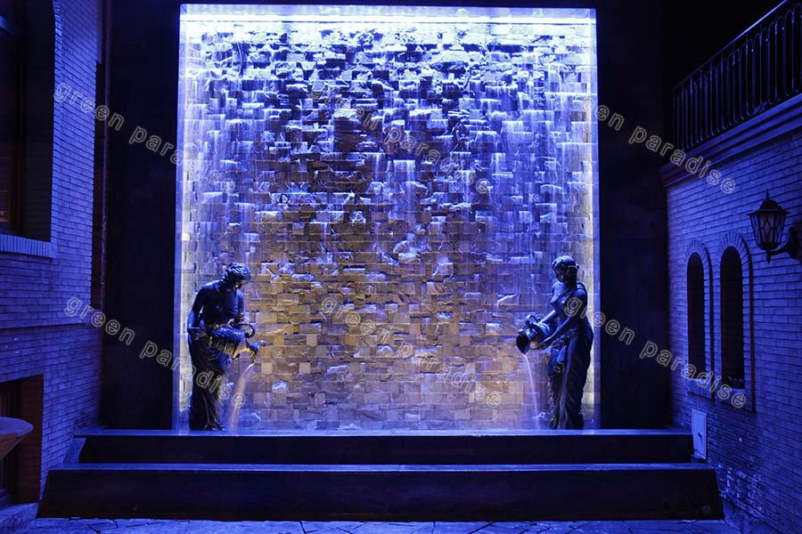 fountain 11 آبنمای دیوار خیس