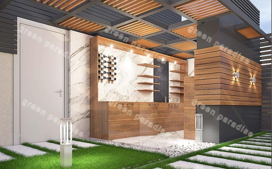roofgarden 16 روف گاردن شیخ بهایی