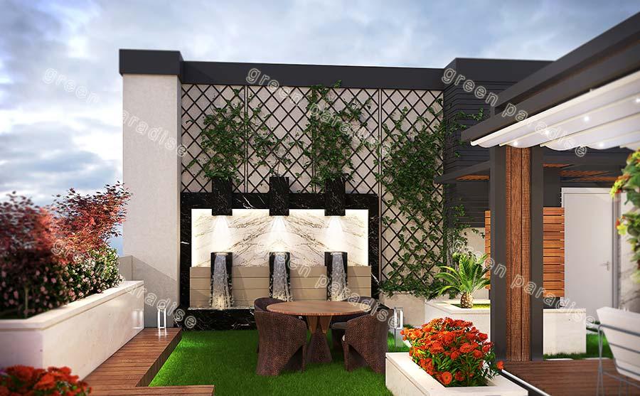 roofgarden 17 روف گاردن شیخ بهایی