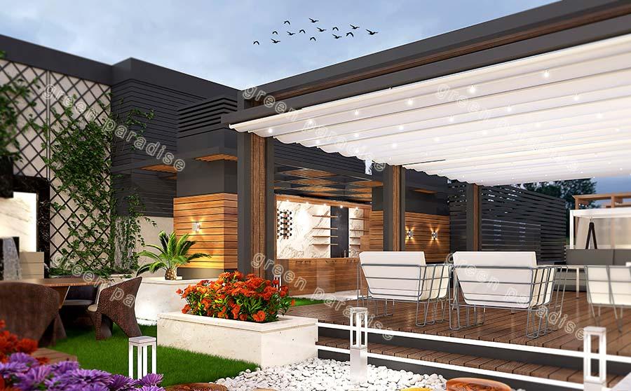 roofgarden 18 روف گاردن شیخ بهایی