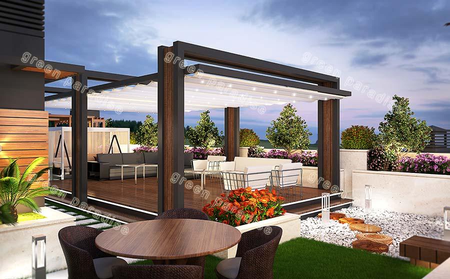 roofgarden 19 روف گاردن شیخ بهایی
