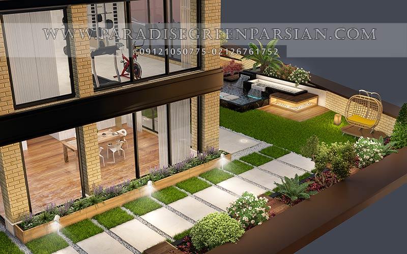 roof graden designing 7 روف گاردن